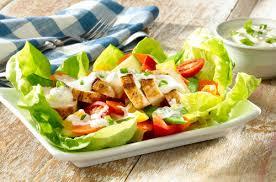 garden salad with chicken. Beautiful With Garden Chicken Salad With