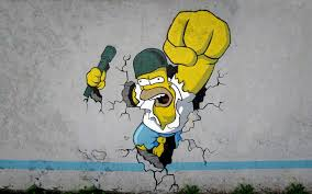 Simpsons Wallpaper For Bedroom Homer Simpson Wallpaper