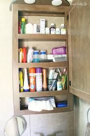 Bathroom Closet Organization Ideas Awesome RV Organization Laura's Crafty Life