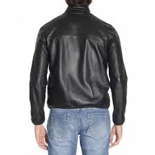 armani jacket men emporio spring summer 2017 black
