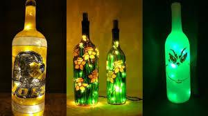 Bottle Light Ideas 50 Led Christmas Lights Wine Bottles Ideas