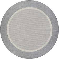 recife stria texture champagne grey 8 ft x 8 ft round indoor