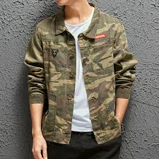 Wholesale 2020 <b>casual camouflage Tooling</b> jacket <b>men</b> Spring ...