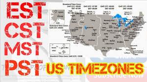 12 Punctual Time Zone Est