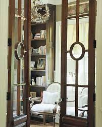 office french doors. gorgeous glass french doors allow you to peak in at home officelibrary office