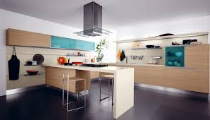 Latest Italian Kitchen Designs Modern Italian Kitchen With Wooden Flooring Also Recesed Lighting