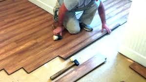 hard installing laminate hardwood flooring wood over plywood