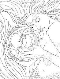 Cute Mermaid Coloring Pages Cute Mermaid Coloring Pages Elegant Best