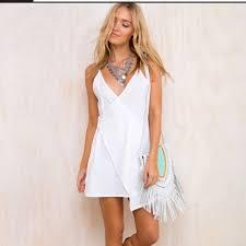 Nwt Princess Polly The Effy White Festival Dress Nwt