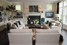 Family room furniture layout Fireplace Love This Furniture Layout For The Family Room Pinterest Love This Furniture Layout For The Family Room For The Home