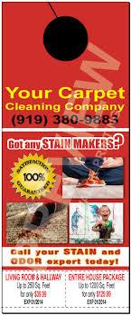 Cleaning Advertising Ideas Skillful Ideas Carpet Cleaning Door Hangers Doorhangers Cleaner