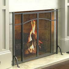 gas fireplace safety screen home depot doors ideas screens glass glass fireplace screens