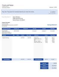 Pay Stub Samples Templates Modern Stub Sample Templates Paystubcreator Net