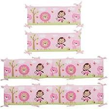 Amazon.com : Just Born Sassy Safari Baby Crib Bumper by Triboro ... & Just Born Sassy Safari Baby Crib Bumper by Triboro Quilt Mfg Co Adamdwight.com