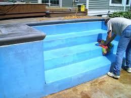 pool steps for inground pools australia vinyl liners liner 3 steps for inground pool with liner l11