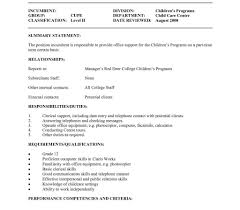 Cover Letter For Child Care Assistant Worker No Experience Reference