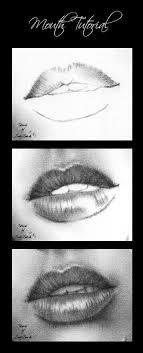 eyebrow shading drawing. lips shading and highlights eyebrow drawing
