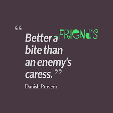 Danish Proverb Quote About Enemy