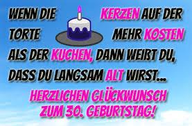 30 Geburtstag Bilder Mit Sprüchen