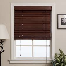 wooden window blinds. Shop Arlo Blinds Customized 33-inch Real Wood Window - On Sale Free Shipping Today Overstock.com 3485310 Wooden W
