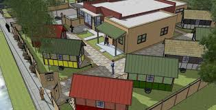 tiny house retirement community. A Project Of Occupy Madison, OM Village Is Tiny House For The Homeless Currently In Building Stage With First Four Houses Nearing Retirement Community S