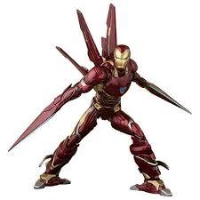 <b>Avengers</b>: <b>Infinity War</b> Iron Man Mk-50 <b>Nano</b>-Weapon SH Figuarts ...