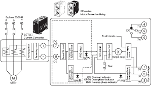intech system chennai pvt authorised distributor omron 8 internal block diagram of the se series static motor protective relay