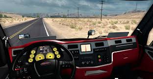 peterbilt 579 ferrari interior final mod