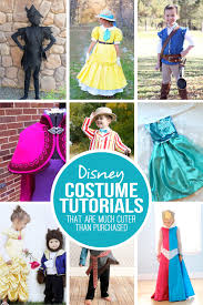 28 diy disney costume tutorials that are much cuter than bought