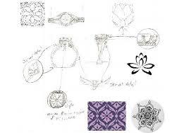 custom jewelry design vine diamond enement ring custom jewelry design process build your