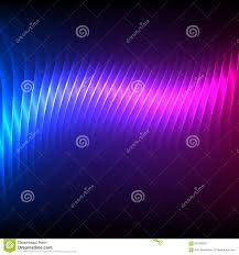 Purple And Blue Background Party Flyer Background Bright Blue Purple Stock Vector