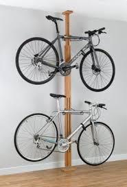 Floor standing bike rack