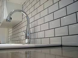 white glass subway tile with black grout photo 9 of white glass subway tile grey grout