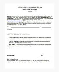 Monthly Report Template Word Sample Student Report Construction Monthly Report Template Sample 71