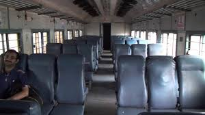 Inside View Of Jan Shatabdi Express Coach Wr Of Saurashtra Express Western Railway