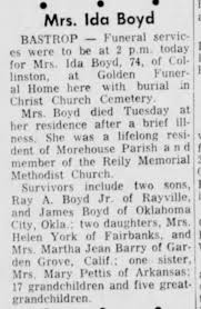 Boyd Ida Mrs - Newspapers.com