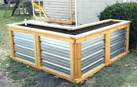 how to build a raised planter box diy simple building boxes for vegetables