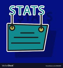 Sticker Statistics Icon Infographic Chart Symbol