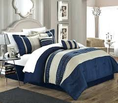 navy blue comforter set full 7 pieces double needle stitching pinch pleat solid navy blue comforter set double full size bedding want to know more on