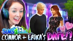 CONNOR *FINALLY* DATES ERIKA!? (The Sims 4 IN THE SUBURBS #16! ) - YouTube