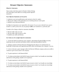 resume objective example 8 samples in pdf word resume objective examples for internships