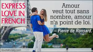Lamour Vainc Tout French Love Quotes For The Romantic In You