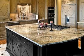 kitchen countertops slab design engineered granite stone