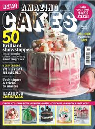 Marketforce On Twitter Amazing Cakes Magazine In Stores From 12
