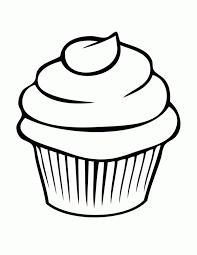 Small Picture Coloring Page Cupcake Miakenasnet