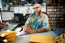 ebay home office. Jason Smith Owns Tiki Pug Music, A Store That Sells Miscellaneous Goods On Ebay And Home Office U