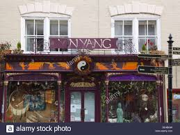 Quirky Shop in Glastonbury. Somerset. England. UK.