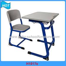 classroom single desk and chair school furniture guangzhou