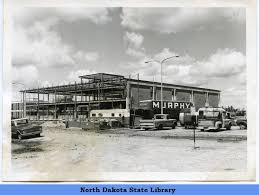 Constructing the Mildred Johnson Library on the NDSSS campus - North Dakota  Memories (ND State Library) - Welcome to Digital Horizons