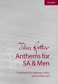 Pdf John Rutter Anthems For Sa And Men Composer Anthem
